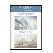 DVD : Twin Pack : Mountain Adventures in Watercolour : David Bellamy