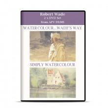 DVD : Twin Pack : Water Colour Wade's Way & Simply Watercolour : Robert Wade