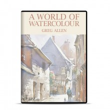 DVD : A World of Watercolour : Greg Allen