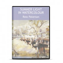 DVD : Summer Light in Watercolours : Ross Paterson