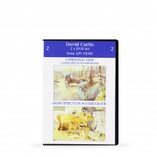 DVD : Twin Pack 2 : A Personal View & Light Effects in Watercolor : David Curtis