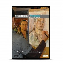 Townhouse DVD : Watercolour Portraits : Aine Divine