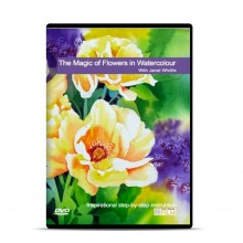 Townhouse DVD : The Magic of Flowers in Watercolour : Janet Whittle