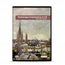 Townhouse DVD : Townscape Impressions in Oil : Derek Daniells