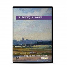 Townhouse DVD : Oil Sketching on Location : Robert Brindley RSMA