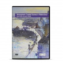 Townhouse DVD : Atmospheric Coastal Scenes in Watercolour : Robert Brindley RSMA