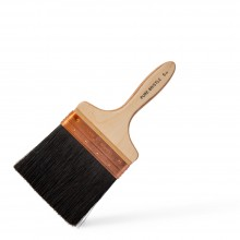 RTF Granville : Copper Bound Black Bristle Wall Brush : 5 inch