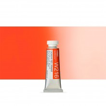 Holbein Watercolour : 15ml Tube CADMIUM RED ORANGE