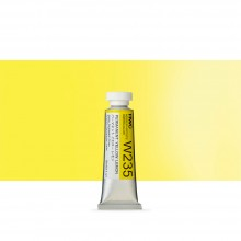 Holbein Watercolour : 15ml Tube PERMANENT YELLOW LEMON
