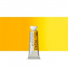 Holbein Watercolour Paint : 15ml : Cadmium Yellow Deep