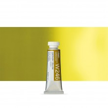 Holbein Watercolour : 15ml Tube GREENISH YELLOW