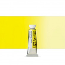 Holbein : Watercolour Paint : 15ml : Tube Imidazoline Lemon