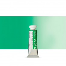 Holbein Watercolour : 15ml Tube EMERALD GREEN NOVA