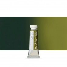 Holbein : Watercolour Paint : 15ml : Tube Olive Green