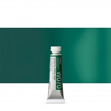 Holbein Watercolour Paint : 5ml Tube Cadmium Green Deep