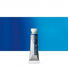 Holbein : Watercolour Paint : 5ml : Tube Marine Blue