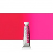 Holbein Watercolour Paint : 5ml Tube Bright Rose (Luminous)