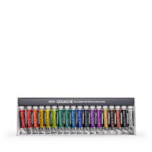 Holbein : Artists' : Gouache Paint : 5ml : Set of 18