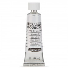 Schmincke : Horadam Gouache Paint : 15ml : Zinc White