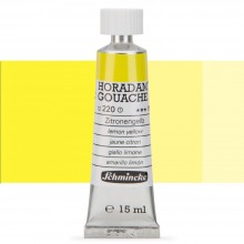 Schmincke : Horadam Gouache Paint : 15ml : Lemon Yellow