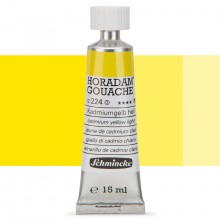 Schmincke : Horadam Gouache Paint : 15ml : Cadmium Yellow Light