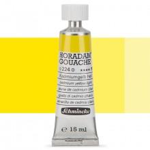 Schmincke : Horadam Gouache Paint : 15ml : Cadmium Yellow Light