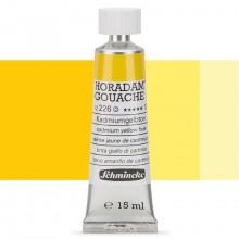 Schmincke : Horadam Gouache Paint : 15ml : Cadmium Yellow Hue