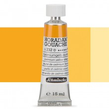 Schmincke : Horadam Gouache Paint : 15ml : Cadmium Yellow Deep