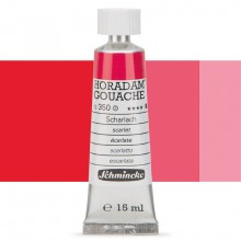 Schmincke : Horadam Gouache Paint : 15ml : Scarlet Red