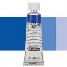 Schmincke : Horadam Gouache Paint : 15ml : Ultramarine Light