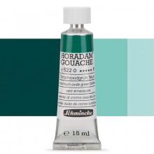 Schmincke : Horadam Gouache Paint : 15ml : Helio Green Bluish