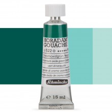 Schmincke : Horadam Gouache Paint : 15ml : Chromium Oxide Green Brilliant