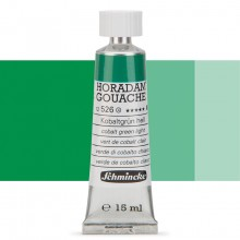 Schmincke : Horadam Gouache Paint : 15ml : Cobalt Green Light