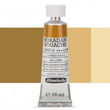 Schmincke : Horadam Gouache Paint : 15ml : Raw Umber