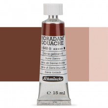 Schmincke : Horadam Gouache Paint : 15ml : Burnt Sienna