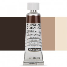 Schmincke : Horadam Gouache Paint : 15ml : Burnt Umber
