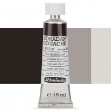 Schmincke : Horadam Gouache Paint : 15ml : Vandyke Brown