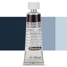 Schmincke : Horadam Gouache Paint : 15ml : Neutral Grey