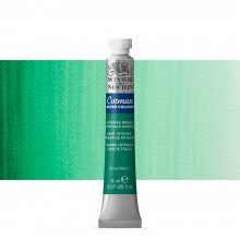 Winsor & Newton : Cotman Watercolour : 8ml : Tube Intense Green