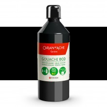 Caran d'Ache : Eco Gouache : 500ml : Black