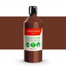 Caran d'Ache : Eco Gouache : 500ml : Burnt Sienna