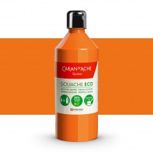 Caran d'Ache : Eco Gouache : 500ml : Fluorescent Orange