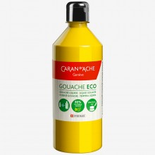 Caran d'Ache : Eco Gouache : 500ml : Primary Yellow