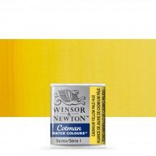 Winsor & Newton : Cotman Watercolour : Half Pan : Cadmium Yellow Pale Hue