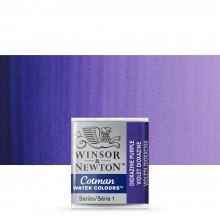 Winsor & Newton : Cotman Watercolour : Half Pan : Dioxazine Violet