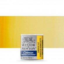 Winsor & Newton : Cotman Watercolour : Half Pan : Gamboge Hue