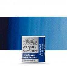 Winsor & Newton : Cotman Watercolour : Half Pan : Prussian Blue