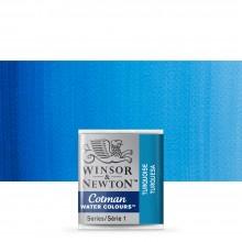 Winsor & Newton : Cotman Watercolour : Half Pan : Turquoise