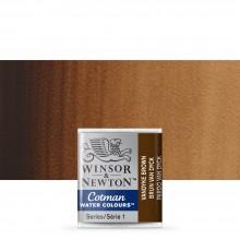 Winsor & Newton : Cotman Watercolour : Half Pan : Vandyke Brown