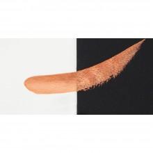 Finetec : Coliro : Pearlcolors : Mica Watercolour Paint : 30mm Refill : Golden Orange M005